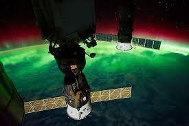 aurora australis view taken by the expedition 29 crew nasa image