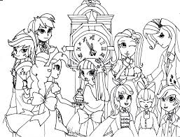 my little pony coloring pages fluttershy equestria girls coloring pages best spike my little pony