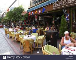 turkey alanya cafe guests mediterranean coast mediterranean houses
