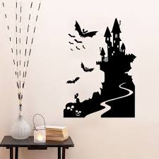 drop shipping home decor new happy halloween wall sticker window home decoration decal