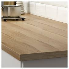 Laminate Flooring Oak Effect Ekbacken Custom Made Worktop Light Oak Effect Laminate 10 45x2 8