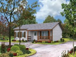 small house with ranch style porch small ranch home floor plans