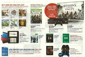 black friday 2014 the best gaming deals for ps4 and xbox one best buy buy 1 get 1 50 off 3ds games starting november 9