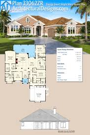 plan 33062zr energy smart single story house plan architectural