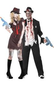 Flapper Gangster Couple Halloween Costumes 25 Flapper Zombie Images Flappers Zombies