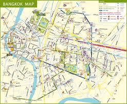 New Orleans Street Map Pdf by Maps Update 21051488 Bangkok Tourist Map Pdf U2013 Bangkok Map With