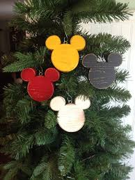disney mickey mouse wood ornaments who doesnt the mouse