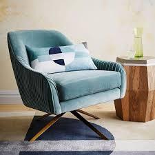 Retro Swivel Armchair Retro Velvet Swivel Chair Products Bookmarks Design