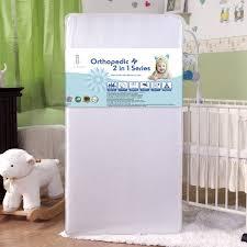 Baby Crib Mattress Reviews L A Baby Maxi Pedic With Memory Foam Crib Mattress Reviews