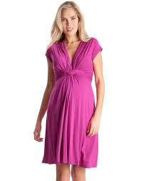 maternity dress pink knot front maternity dress seraphine maternity