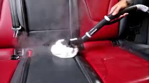 nettoyer siege voiture vapeur comment nettoyer les sièges en cuir avec un nettoyeur vapeur