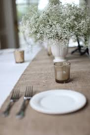 table setting runner and placemats burlap table runner hemmed handmade simple and chic table