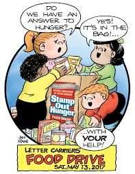 post office hours on thanksgiving nalc stamp out hunger food drive foodbank of southeastern