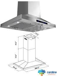 Kitchen Cabinet Height 8 Foot Ceiling by 30 U2033 Island Range Hood Minimum Required Ceiling Height 8 U0027 Feet