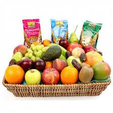 fruits delivery fruit and nut basket send fresh fruits uk expressgiftservice