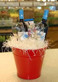 gift baskets with wine wine gift basket how sweet it is produce salisbury md