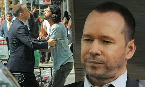 Seeking Blue Bloods Donnie Wahlberg Gets Into A Scuffle As He Blue Bloods In New