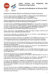 chambre d agriculture 60 lettre ouverte aux dirigeants des chambres d agriculture apca rp