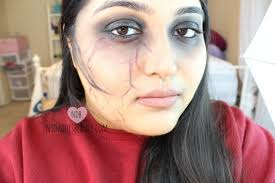 beginner halloween makeup tutorial a day to halloween night