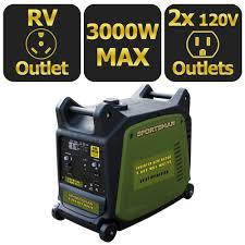 Read Write Think Generator Sportsman 3 000 Watt Gasoline Powered Digital Inverter Generator