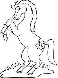 hugo l u0027escargot coloriage cheval
