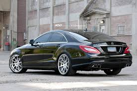 mercedes cls 63 amg price mercedes cls63 amg on adv10 concave wheels autoevolution