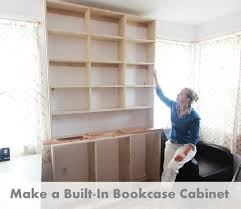 how to make built in bookcases 8 steps with pictures