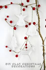Creative Christmas Craft Ideas Diy Projects Cute Clay Christmas Ornaments