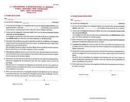 declaration de mariage formulaire d 2b declaration d intention pour le mariage de deux