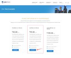 purchase resume how to purchase resume package
