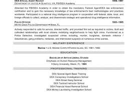 police detective resume law enforcement resume examples reentrycorps