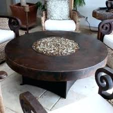 oriflamme fire table parts oriflamme fire table somber hammered copper round fire table a view