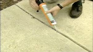 how to seal expansion joints in a concrete driveway today s