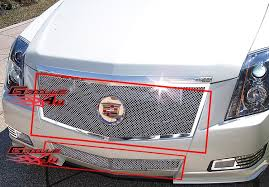 2011 cadillac cts grille 2008 2013 cadillac cts stainless steel mesh grille grill insert