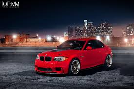 red bmw the red 1m