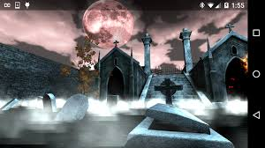 halloween lightning background halloween graveyard 3d android apps on google play