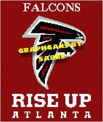Atlanta Falcons Home Decor by Atlanta Falcons Football Crochet Afghan Graph Pattern