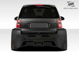 widebody truck duraflex gt300 wide body kit 11 pc for fortwo smart 08 16 ebay