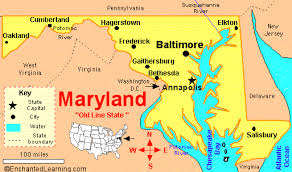 map of maryland with cities churches of in maryland cities a thru z