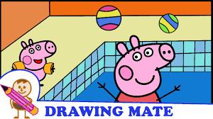 peppa pig coloring pages colouring sheets świnka peppa