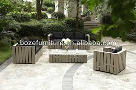 Heavy Duty Sofa by Wpc Wooden Sofa Set Sofa Outdoor Heavy Duty Patio Sofa Buy Dedon