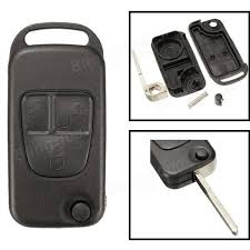 mercedes replacement key replacement 3 button remote key fob shell for mercedes