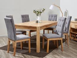 Dining Table With Grey Chairs Dining Room Classy Grey Dining Table And Chairs White Washed