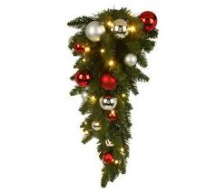 bethlehem lights battery op 24 teardrop ornament swag page 1