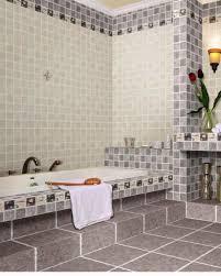 bathroom square bathroom wall ceramic tiles with cream and grey