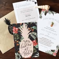 wedding invitation stunning wedding invitations hawaiian