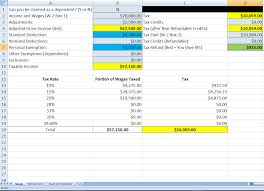 Tax Spreadsheet Hello R Pf I U0027ve Created A Spreadsheet To Calculate Your Taxes For