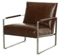 Vintage Brown Leather Chair Vintage Tobacco Metal Leather Chair Weir U0027s Furniture
