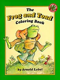 frog toad coloring book arnold lobel reviews description