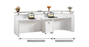 Used Curved Reception Desk Modern Office Salon Used Hospital Curved Reception Desk Buy